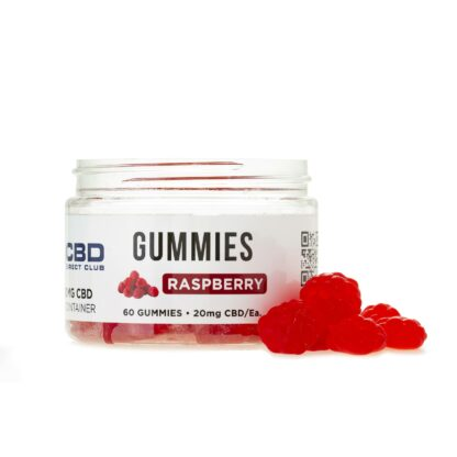 gummies 20mg 60ct raspberry out